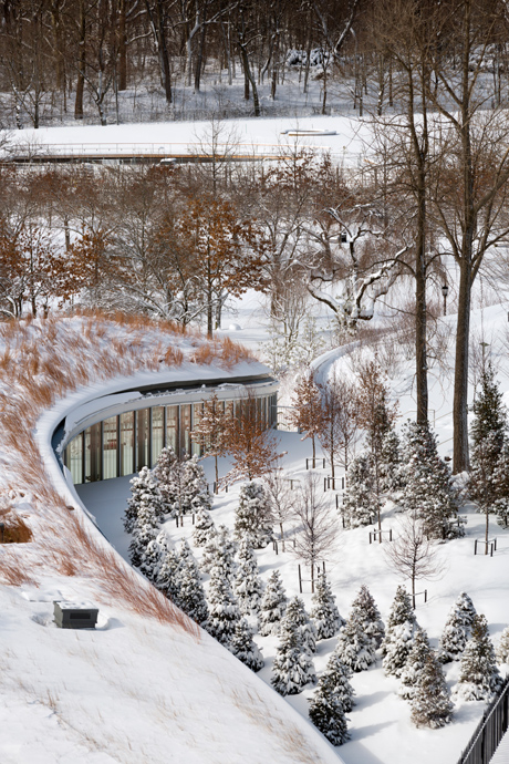 Brooklyn Botanic Garden Visitor Center Laud8 Landscape